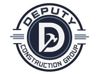 Deputy construction group logo design