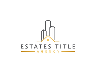 Estates Title Agency logo design