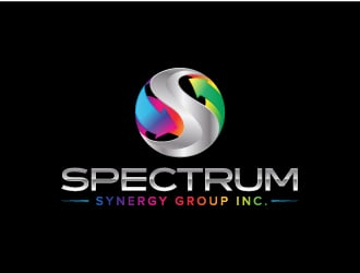Spectrum Synergy Group Inc. logo design