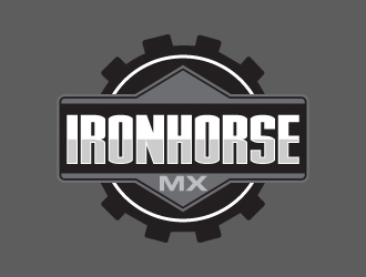 IRONHORSE MX logo design