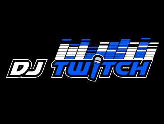 DJ Twitch or DJ TWITCH logo design
