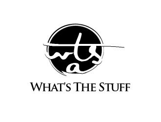 WTS @ What's The Stuff logo design