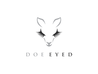 Doe Eyed logo design