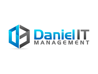 Daniel IT Management logo design