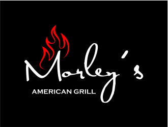 "Morley's ""American Grill"" logo design"