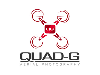 Quad-G Aerial Photography logo design