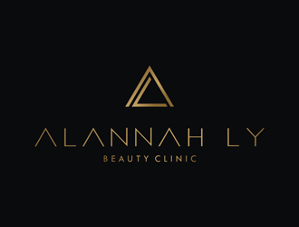 Alannah Ly logo design