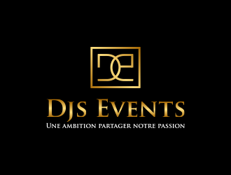 Djs Events logo design