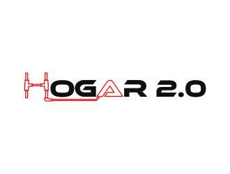Hogar 2.0 logo design