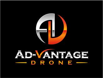 Ad-Vantage Drone logo design