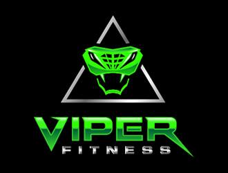 Viper Fitness logo design