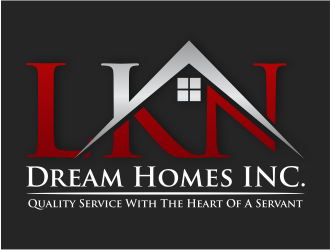 LKN Dream Homes INC. logo design