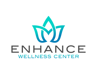 Enhance Wellness Center logo design
