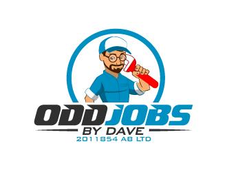 Odd Jobs By Dave logo design