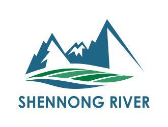 Shennong River logo design
