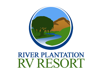 River Plantation RV Resort logo design
