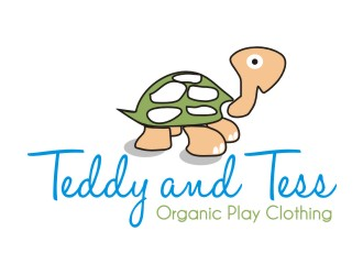 Teddy and Tess logo design