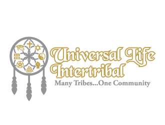 UL Intertribal  - Many Tribes...One Community logo design