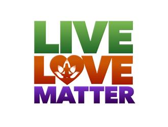 Live, Love, Matter logo design