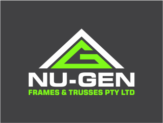 NU-GEN FRAMES & TRUSSES PTY LTD logo design