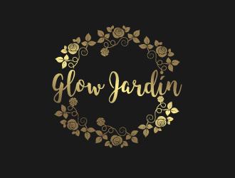 Glow Jardín. logo design