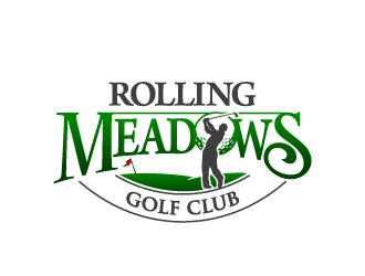 Rolling Meadows Golf Club logo design
