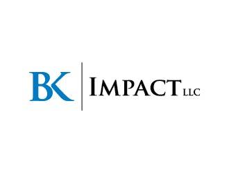 BK Impact LLC logo design