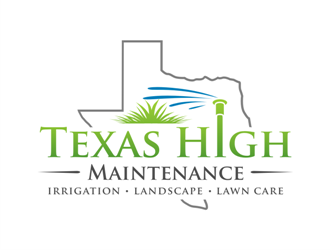 Texas High Maintenance logo design