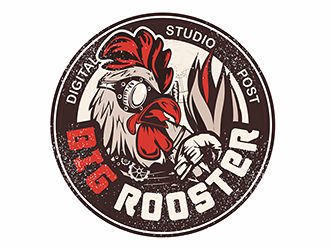 Big Rooster Digital • Studio • Post logo design
