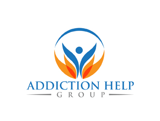 Addiction Help Group logo design