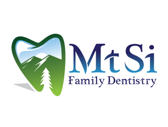 Mt Si Family Dentistry logo design