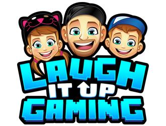 Laugh It Up Gaming logo design