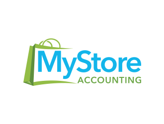 MyStore Accounting logo design