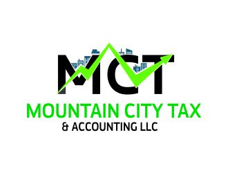 Mountain City Tax & Accounting LLC logo design