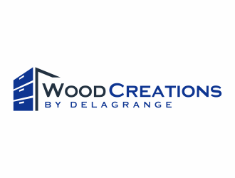 Wood Creations by Delagrange logo design