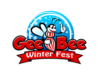 Gee Bee Winter Fest logo design