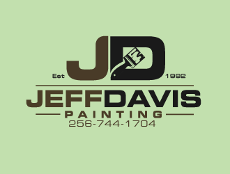 Jeff Davis Painting logo design