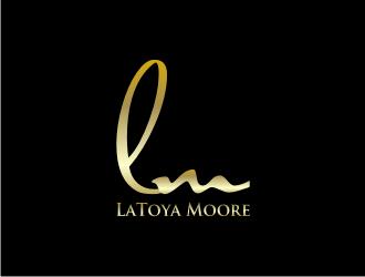 LaToya Moore logo design