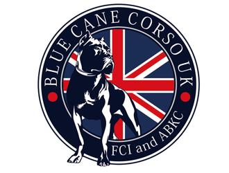 Blue Cane Corso UK logo design