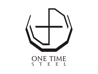 One Time Steel logo design