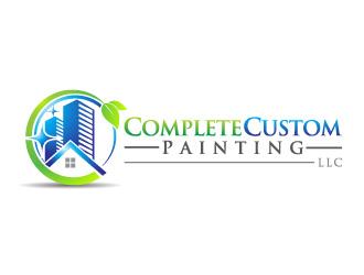 Complete Custom Painting LLC logo design