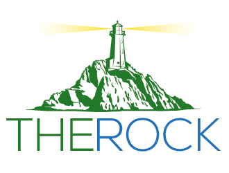 The Rock logo design