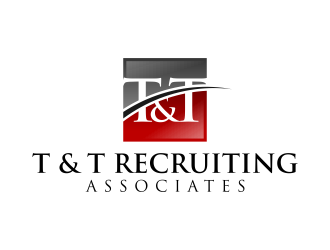 T & T Recruiting Associates logo design