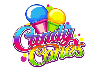 Candy Cones logo design