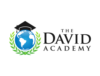 The David Academy logo design