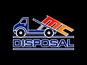 MC DISPOSAL logo design