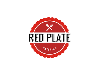 Red Plate logo design