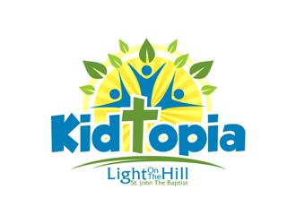 Kidtopia logo design