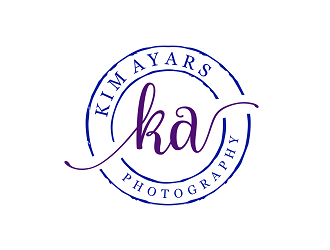 Kim Ayars Photography logo design