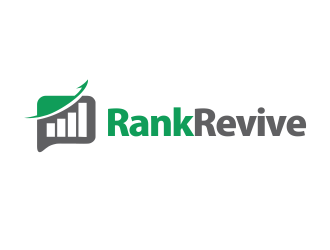 RankRevive logo design